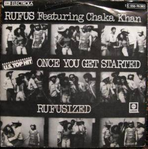 Cover - Rufus & Chaka Khan: Once You Get Started