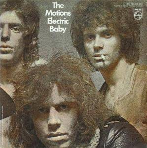 Cover - Motions, The: Electric Baby