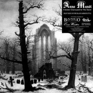 Anno Mundi: Cloister Graveyard In The Snow - Cover