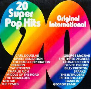 Cover - Billy Preston: 20 Super Pop Hits