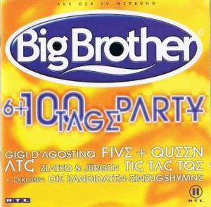 Cover - Modern Talking Feat. Eric Singleton: Big Brother - 6+100 Tage Party