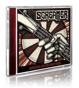 Screamer: Adrenaline Distractions (CD) - Bild 2