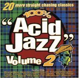 100% Acid Jazz Volume 2 - Cover