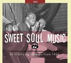 Cover - Alvin Cash & The Crawlers: Sweet Soul Music - 30 Scorching Classics From 1965