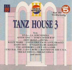 "Cover - ""O"": Tanz House 3"