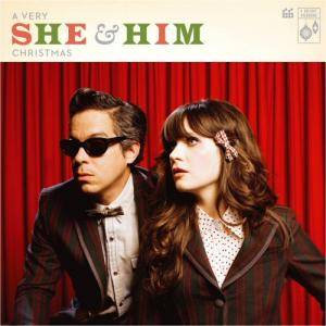 She & Him: Very She & Him Christmas, A - Cover