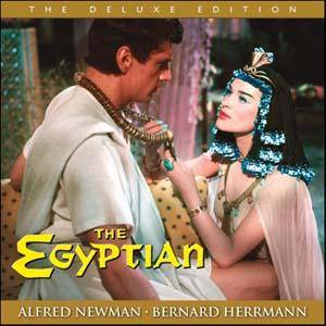 Cover - Bernard Herrmann: Egyptian, The