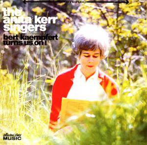 Cover - Anita Kerr Singers, The: Bert Kaempfert Turns Us On