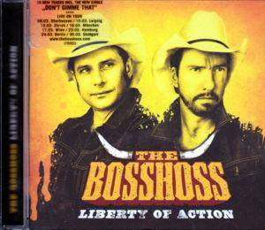 The BossHoss: Liberty Of Action (CD) - Bild 2