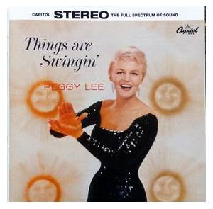 Cover - Peggy Lee: Things Are Swingin'