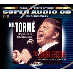 Cover - Mel Tormé: London Sessions, The