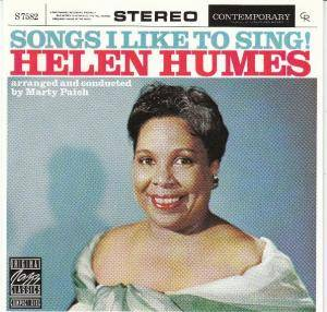 Cover - Helen Humes: Songs I Like To Sing!