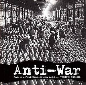 Cover - Anthrax: Anti War (Anarcho Punk Comp Vol. I)