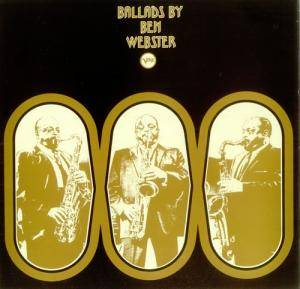 Ben Webster: Ballads By Ben Webster - Cover
