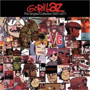 Gorillaz: Singles Collection 2001-2011, The - Cover