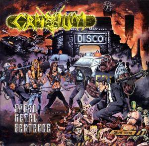 Cover - Cranium: Speed Metal Sentence