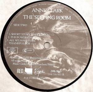 Anne Clark: The Sitting Room (LP) - Bild 4