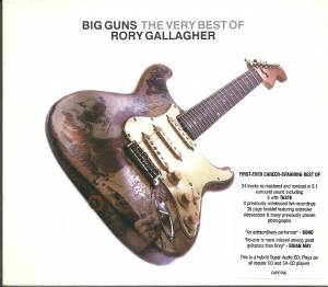 Taste: Big Guns - The Very Best Of Rory Gallagher - Cover