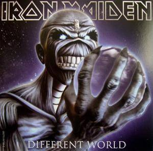 Iron Maiden: Different World - Cover
