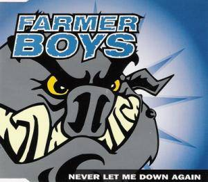 Cover - Farmer Boys: Never Let Me Down Again