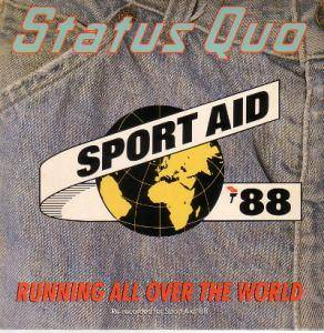Status Quo: Running All Over The World - Cover