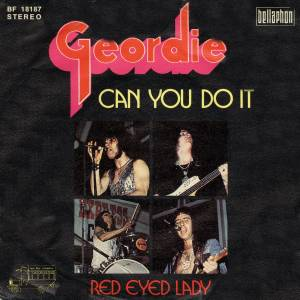 Cover - Geordie: Can You Do It