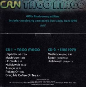 Can: Tago Mago (2-CD) - Bild 2
