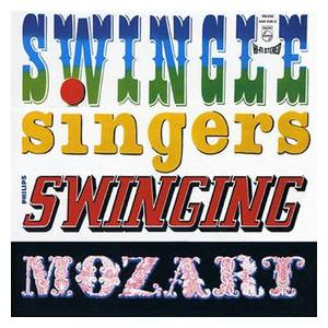 Cover - Swingle Singers, The: Swinging Mozart
