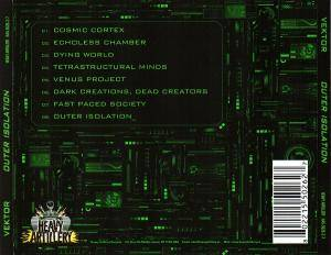 Vektor: Outer Isolation (CD) - Bild 4