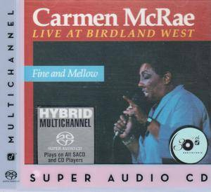 Cover - Carmen McRae: Fine And Mellow - Live At Birdland West