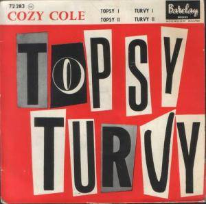 Cover - Cozy Cole: Topsy - Turvy