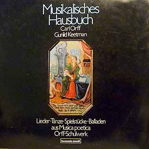 Cover - Carl Orff: Musikalisches Hausbuch