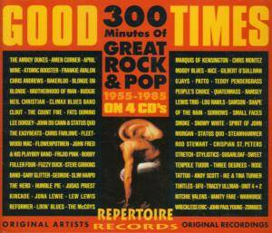 Good Times - 300 Minutes Of Great Rock & Pop 1955-1985 - Cover