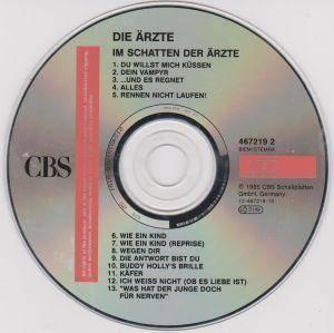 Die Ärzte: Im Schatten Der Ärzte (CD) - Bild 3