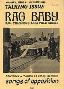 Cover - Country Joe & The Fish: Rag Baby Talking Issue No. 1