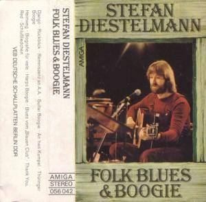 Stefan Diestelmann: Folk Blues & Boogie - Cover