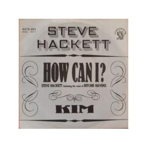 Steve Hackett: How Can I? - Cover