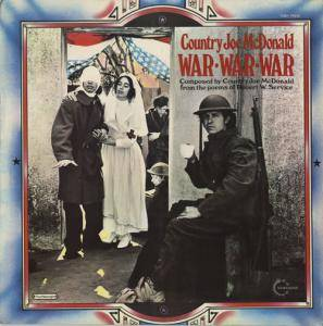 Cover - Country Joe McDonald: War - War - War