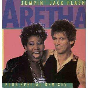 Aretha Franklin: Jumpin' Jack Flash - Cover