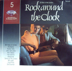 Cover - Various Artists/Sampler: Diamond Collection Vol. 5 - Rock Around The Clock