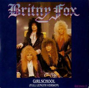 Britny Fox: Girlschool - Cover