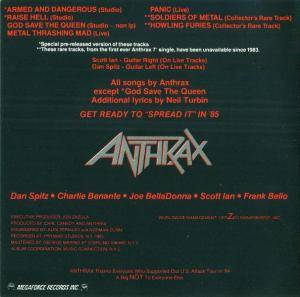 Anthrax: Fistful Of Metal / Armed And Dangerous (2-CD) - Bild 7