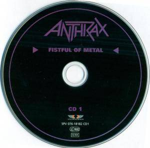 Anthrax: Fistful Of Metal / Armed And Dangerous (2-CD) - Bild 8