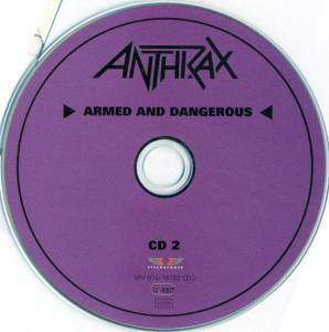 Anthrax: Fistful Of Metal / Armed And Dangerous (2-CD) - Bild 9