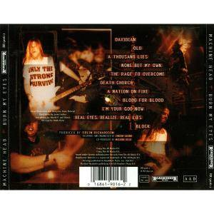 Machine Head: Burn My Eyes (CD) - Bild 4