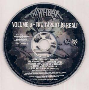 Anthrax: Volume 8 - The Threat Is Real! (CD) - Bild 5