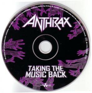 Anthrax: Taking The Music Back (Single-CD) - Bild 3