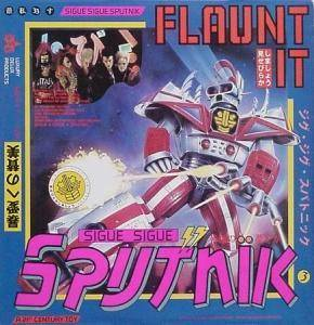 Sigue Sigue Sputnik: Flaunt It - Cover