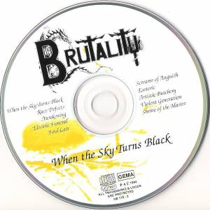 Brutality: When The Sky Turns Black (CD) - Bild 3