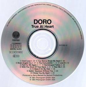 Doro: True At Heart (CD) - Bild 3